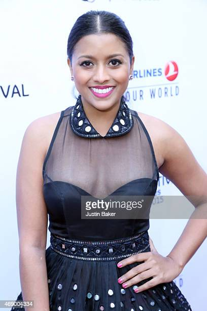 "Tiya Sircar attends the 13th Annual Indian Film Festival Of Los Angeles - Opening Night Screening Of ""Haraamkhor"" at ArcLight Hollywood on April 8,..."