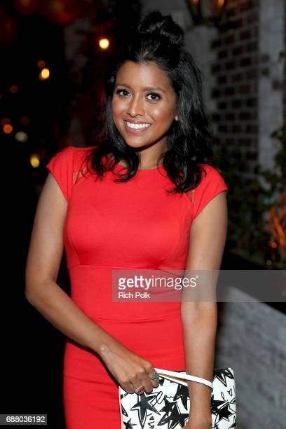 Tiya Sircar star of the new Sony Pictures Television series Alex Inc attends the Sony Pictures Television LA Screenings Party at Catch LA on May 24...