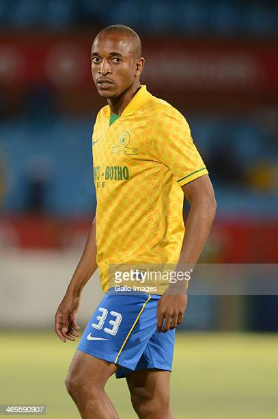 Tiyani Mabunda during the Absa Premiership match between Mamelodi Sundowns and Ajax Cape Town at Loftus Stadium on February 15 2014 in Pretoria South...