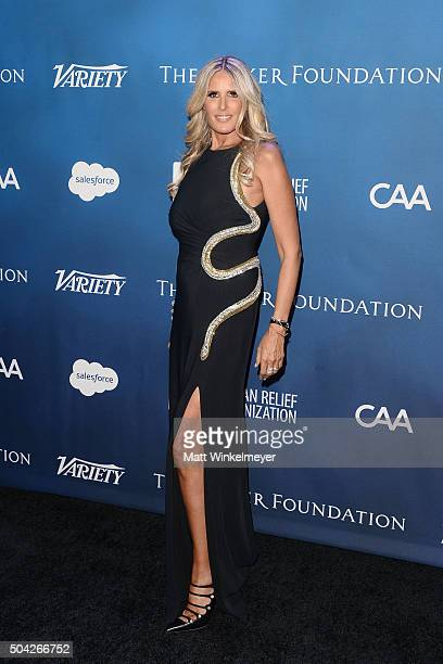 Tiziana Rocca arrives at the 5th Annual Sean Penn Friends HELP HAITI HOME Gala benefiting J/P Haitian Relief Organization at Montage Hotel on January...