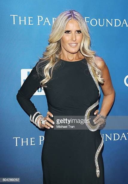 Tiziana Rocca arrives at the 5th Annual Sean Penn Friends 'HELP HAITI HOME' gala benefiting J/P Haitian Relief Organization held at Montage Hotel on...