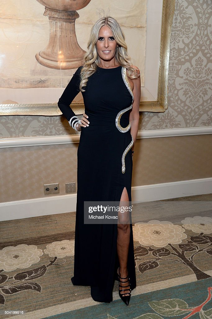 Tiziana Rocca attends the BAFTA Los Angeles Awards Season Tea at Four Seasons Hotel Los Angeles at Beverly Hills on January 9, 2016 in Los Angeles, California.