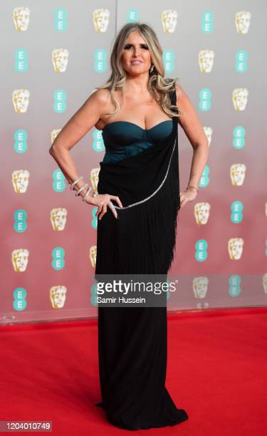Tiziana Rocca attends the EE British Academy Film Awards 2020 at Royal Albert Hall on February 02 2020 in London England