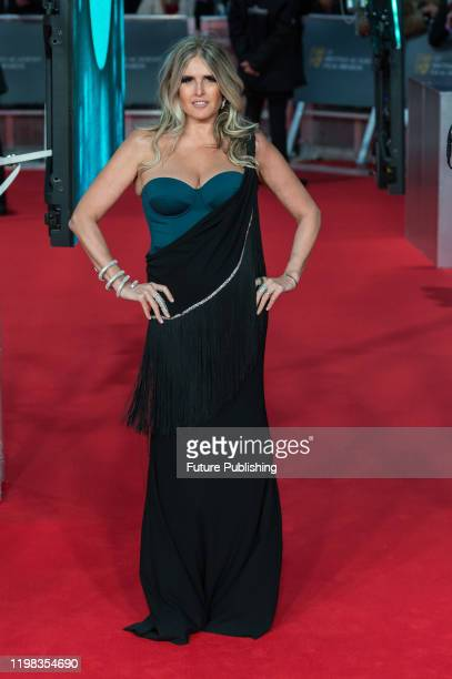 Tiziana Rocca attends the EE British Academy Film Awards ceremony at the Royal Albert Hall on 02 February, 2020 in London, England.- PHOTOGRAPH BY...
