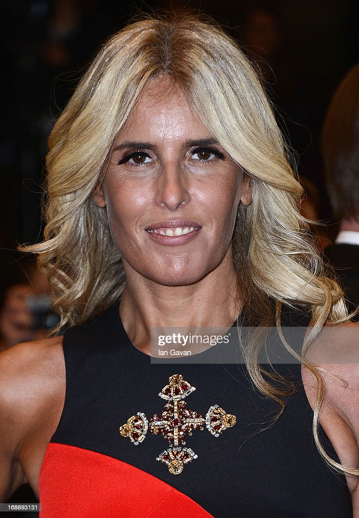 Tiziana Rocca attends the 'Fruitvale Station' Premiere during the 66th Annual Cannes Film Festival at the Palais des Festivals on May 16, 2013 in Cannes, France.