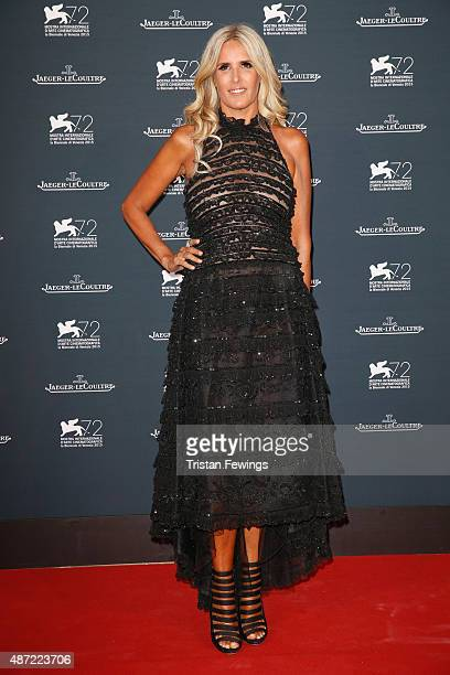 Tiziana Rocca attends the JaegerLeCoultre gala event celebrating 10 years of partnership with La Mostra Internazionale d'Arte Cinematografica di...