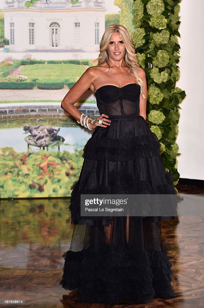 Tiziana Rocca attends the Monaco Red Cross Gala on July 25, 2015 in Monte-Carlo, Monaco.