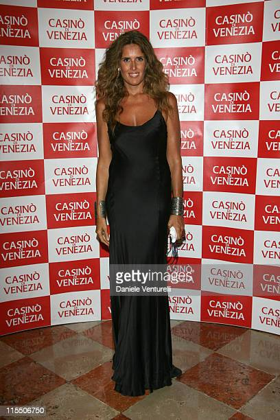 "Tiziana Rocca during The 63rd International Venice Film Festival - ""The Devil Wears Prada"" - Party in Venice, Italy."