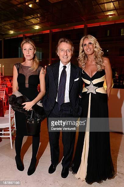 Tiziana Rocca Luca Cordero di Montezemolo and his wife Ludovica Andreoni attend the Gala Telethon 2013 Roma during The 8th Rome Film Festival on...