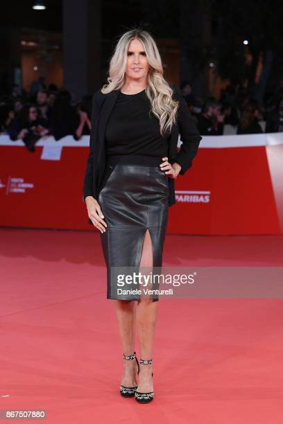 Tiziana Rocca walks a red carpet for 'Stronger' during the 12th Rome Film Fest at Auditorium Parco Della Musica on October 28 2017 in Rome Italy