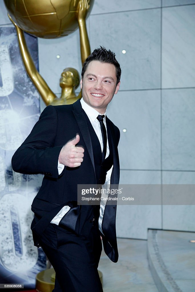 Tiziano Ferro attends the 'World Music Awards 2010 - show' at the Sporting Club on May 18, 2010 in Monte Carlo, Monaco.