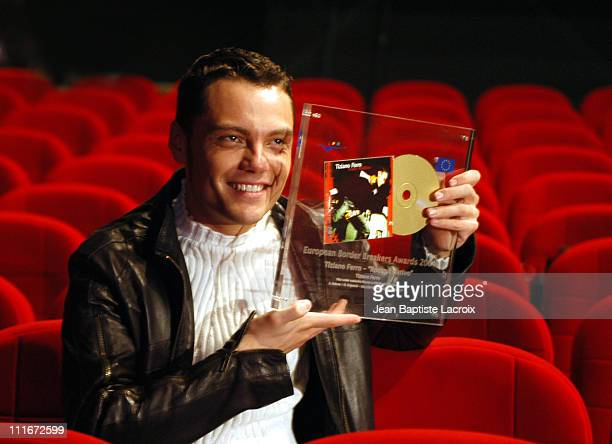 Tiziano Ferro during MIDEM 2004 European Border Breaker Award 2004 at Palais des Festivals in Cannes