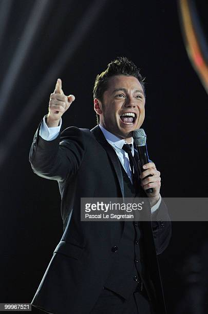 Tiziano Ferro performs onstage during the World Music Awards 2010 at the Sporting Club on May 18 2010 in Monte Carlo Monaco
