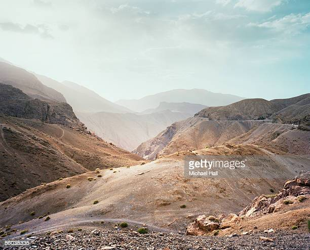 tizi-n-test, high atlas mountains, morocco - extreme terrain stock pictures, royalty-free photos & images