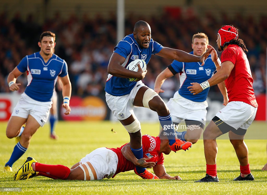 Tonga v Namibia - Group C: Rugby World Cup 2015 : News Photo