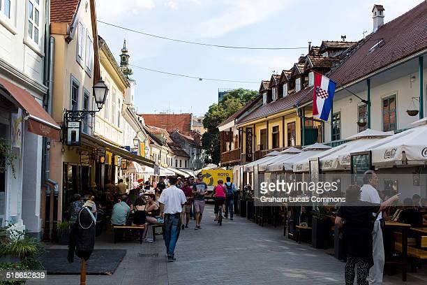 Tkalciceva Street, Central Zagreb.