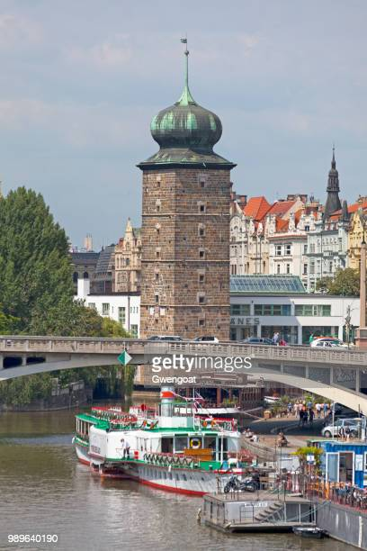 šítkov water tower in prague - gwengoat stock pictures, royalty-free photos & images