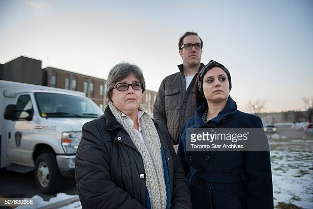 TLawyer Barbara Jackman, left, pictured with her legal team, says the lockdowns presented obstacles in helping her client detainee, Jamil Ogiamien.