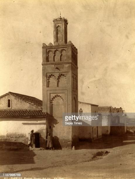 Tlemcen Djama Mosque Bab Zir Algiers Neurdein brothers 1860 1890 the Neurdein photographs of Algeria including Byzantine and Roman ruins in Tebessa...