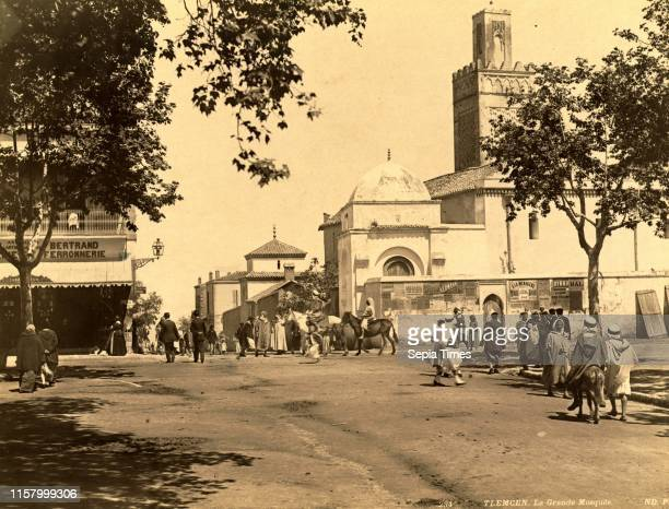 Tlemcen the largest mosque in Algiers Neurdein brothers 1860 1890 the Neurdein photographs of Algeria including Byzantine and Roman ruins in Tebessa...