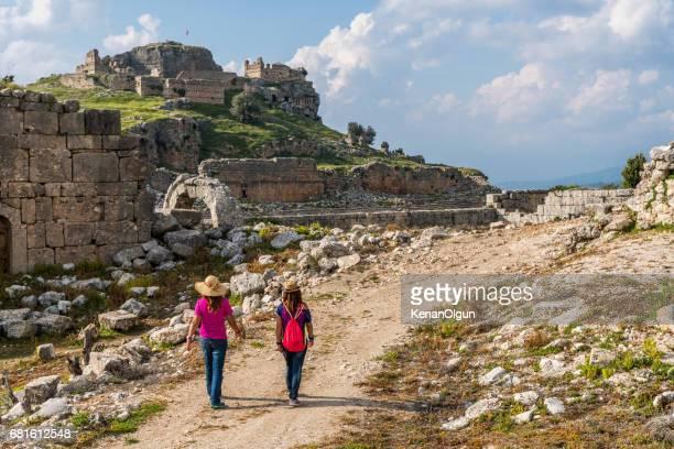 Antike Stadt Tlos von Fethiye / Türkei.