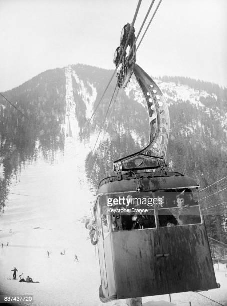 Téléphérique du Brévent Chamonix France en 1946