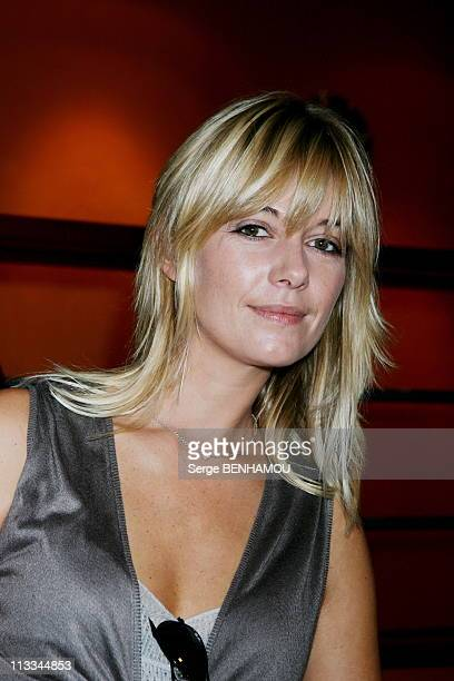 Tmc Press Conference In Paris On September 13Th 2006 In Paris France Here Flavie Flament