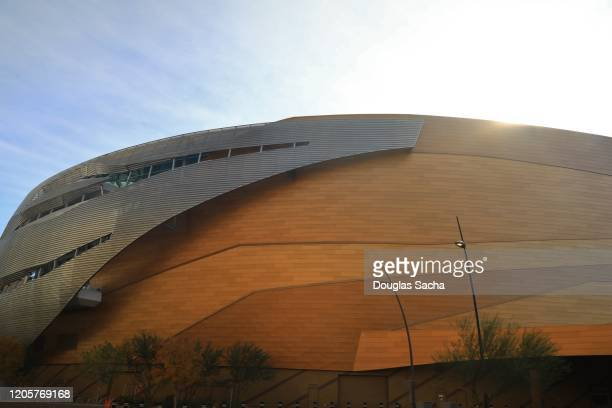 t-mobile arena in las vegas - t mobile arena las vegas stock pictures, royalty-free photos & images