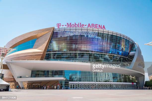 t-mobile arena, las vegas, nevada, usa - t mobile arena las vegas stock photos and pictures