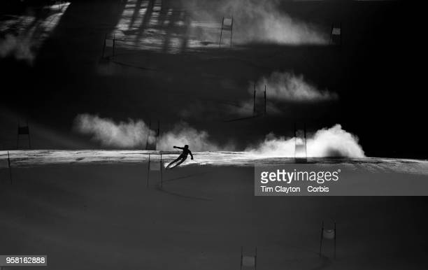 't'nFederica Brignone of Italy in action on the first run during the Alpine Skiing Ladies' Giant Slalom competition at Yongpyong Alpine Centre on...