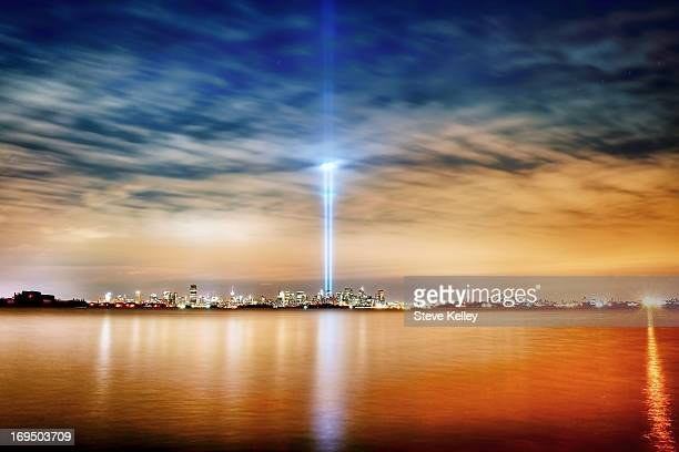 CONTENT] to all who losta stunning and moving tribute in light to the victims of 9/11 The 2008 Tribute in Light viewed from Port Liberte Jersey City...
