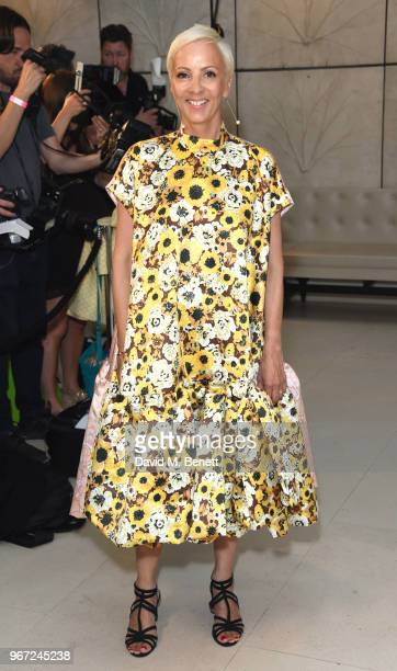 to AnneMarie Curtis attends THE ELLE LIST 2018 in association with THEOUTNETCOM at Spring at Somerset House on June 4 2018 in London England