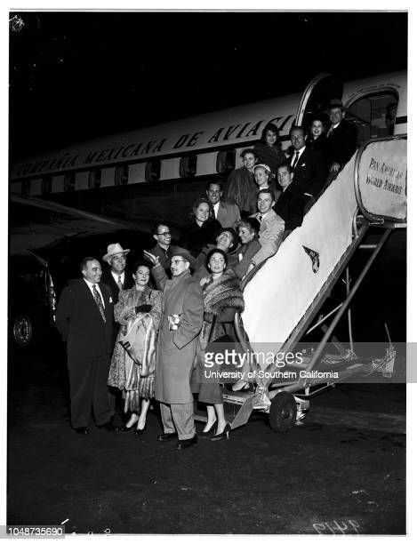 To be guests of Mexican government in celebration of Mexican movie anniversary 6 December 1951 Salvador Duhart Consul General of MexicoAntonio...