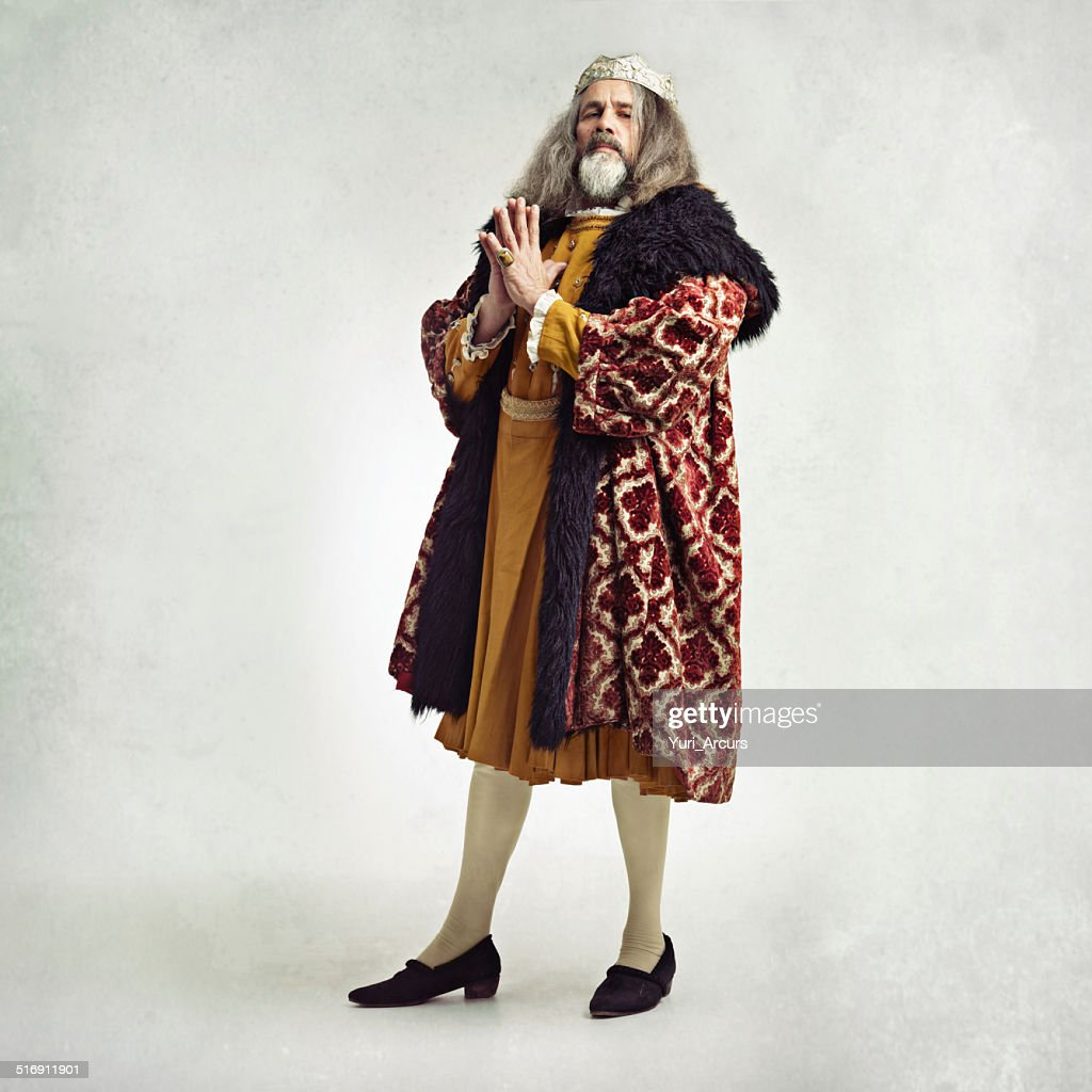 To be king, you must stay one step ahead of : Stockfoto