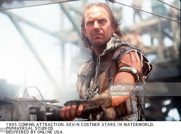 To Be Released In 1995 Waterworld A Universal Studios Picture Starring Kevin Costner