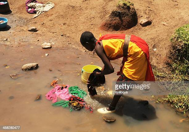 to be woman in africa - eastern african tribal culture stock photos and pictures