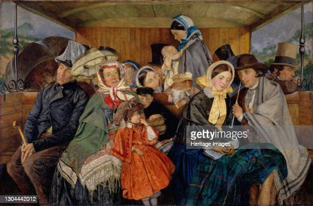 To Brighton and Back for Three and Sixpence, 1859. Artist Charles Rossiter.
