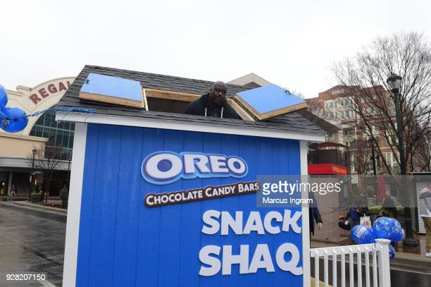 To celebrate National OREO Day OREO Chocolate Candy Bar teamed up with Basketball Hall of Famer Shaquille ONeal whose birthday is also March 6 to...