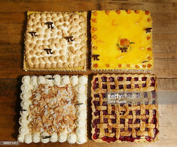 To celebrate Pi day Wanda's Pie in the Sky owned by Wanda Beaver will put out a sign Nerd Alert/We make square pies The shop currently has five...