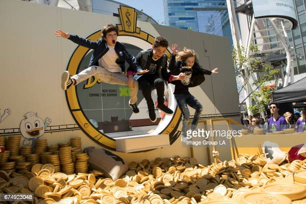 AWARDS To celebrate the highlyanticipated summer premiere of Disney XD's allnew DuckTales Disney has created a lifesize version of Scrooge McDuck's...