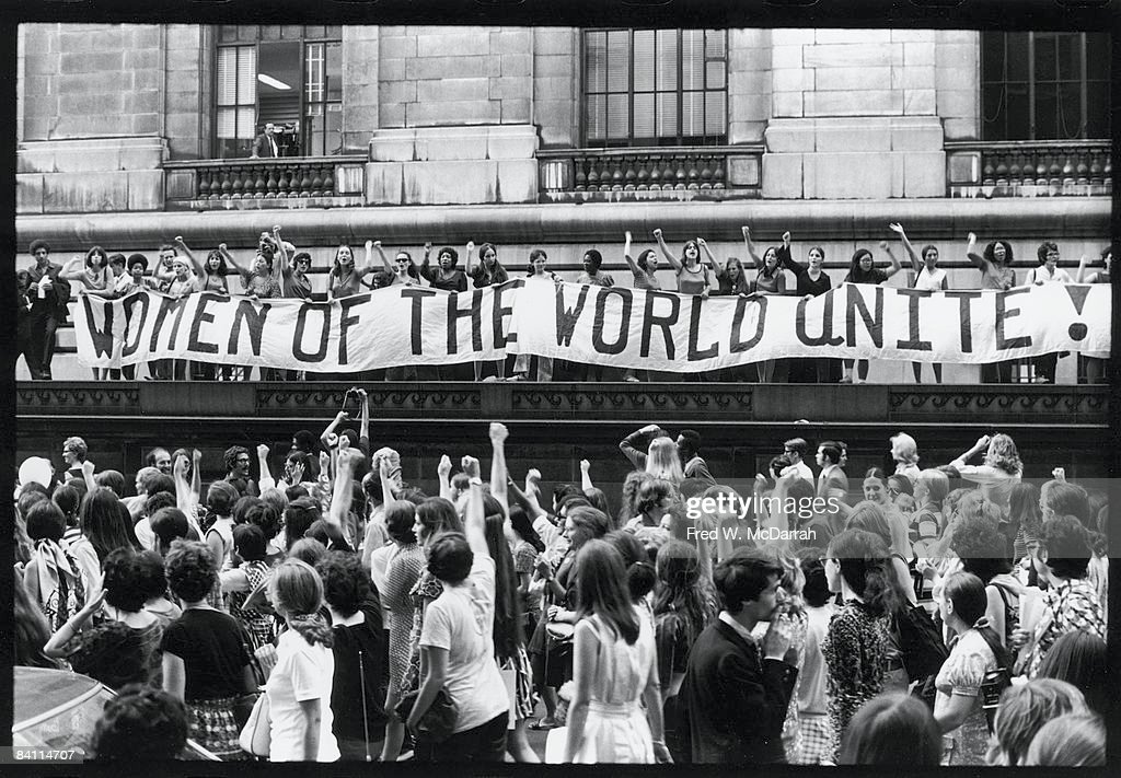 'Women Of The World Unite!' : News Photo