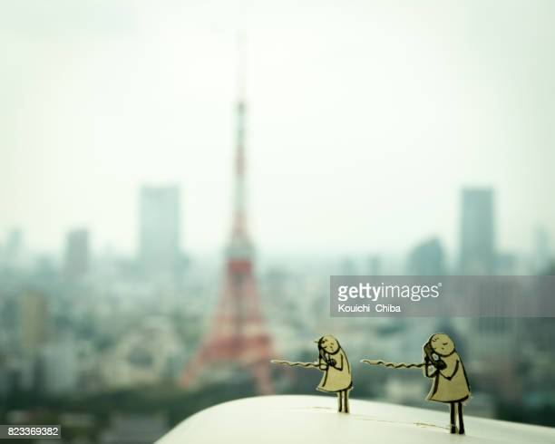 to communicate - kouichi chiba stock photos and pictures