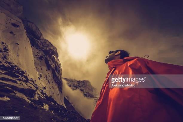 Pour atteindre le sommet de la montagne