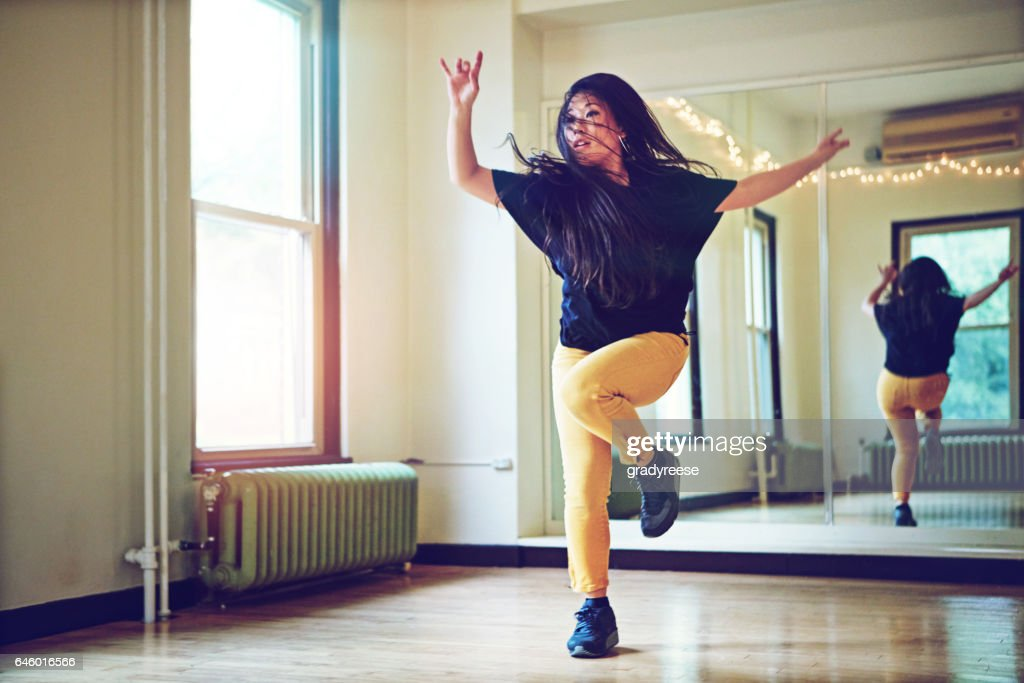 To dance is to live : Stock Photo