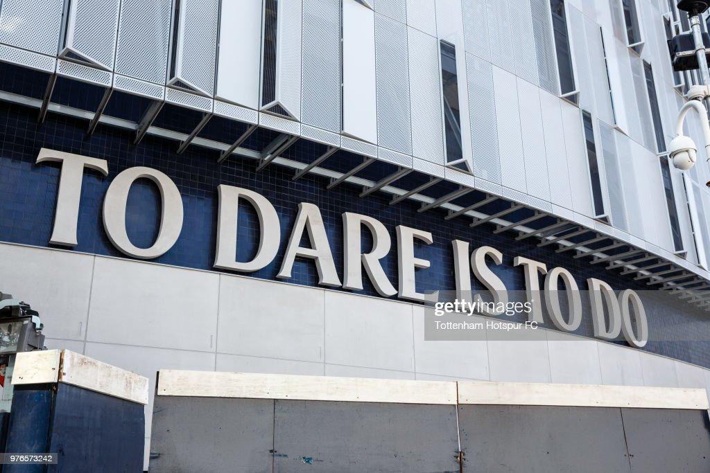 Work Continues On Tottenham Hotspur's New Stadium : ニュース写真