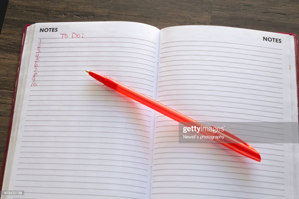 to do list background stock photo getty images