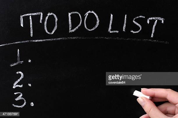 To Do List on Blackboard
