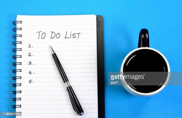 to do list - リスト ストックフォトと画像