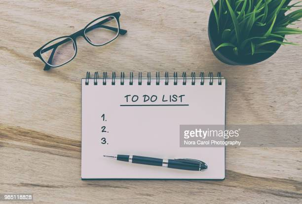 to do list - to do list stock pictures, royalty-free photos & images