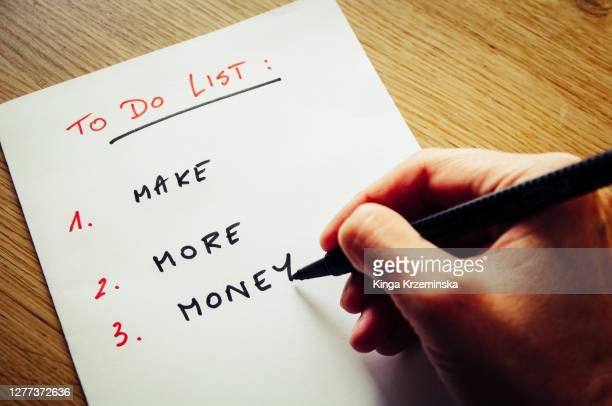 to do list - side hustle - number 2 stock pictures, royalty-free photos & images